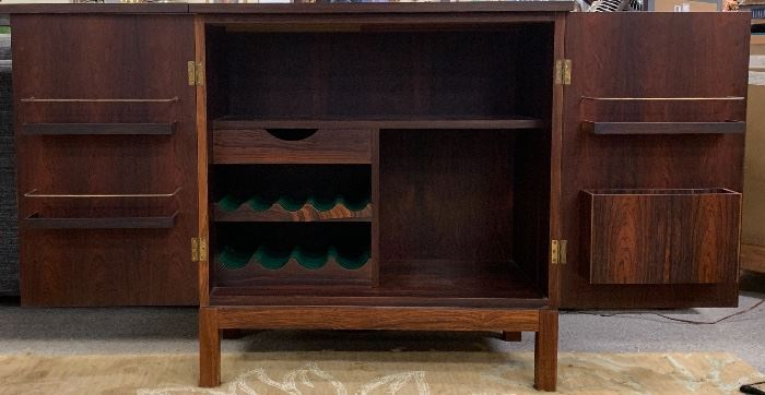 MID CENTURY NORWEGIAN MAKEL FAKTA ROSEWOOD BAR