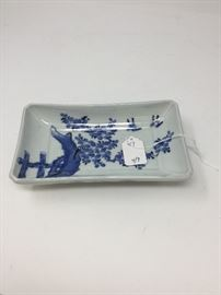 CHINESE EARLY QING/LATE MING DISH