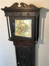 JOHN PORTHOUSE PENRITH TALL CASE CLOCK