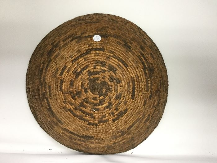 ANTIQUE APACHE COIL BASKET
