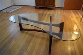 "Mid-Century Danish Modern ""Boomerang"" Coffee Table https://ctbids.com/#!/description/share/119110"