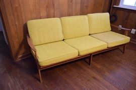 Vintage Danish Three-Seat Sofa https://ctbids.com/#!/description/share/119117