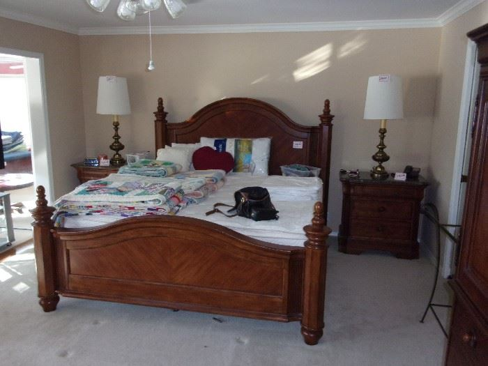 Beautiful King Bedroom Suite