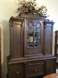 Handsome China Cabinet