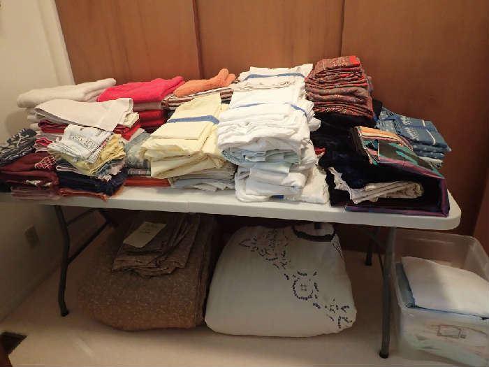 King Sheet Sets. Towels.