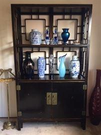 Asian motif Display Cabinet