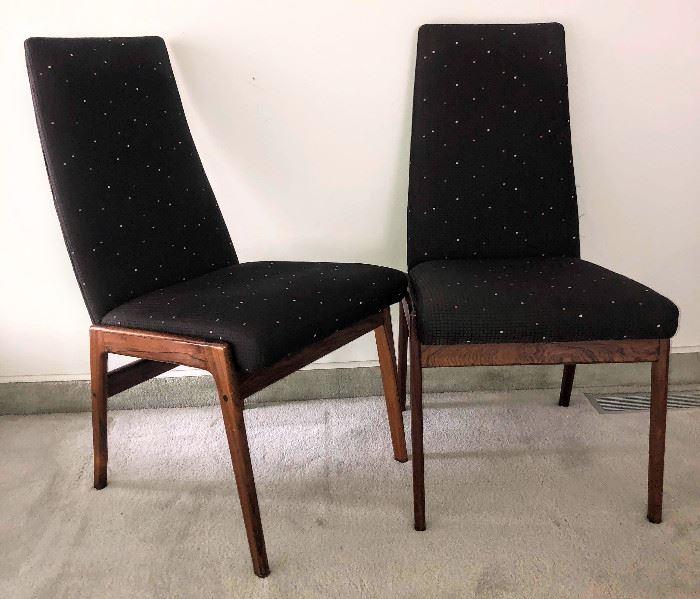 Ten Rosewwod Chairs, Scandline