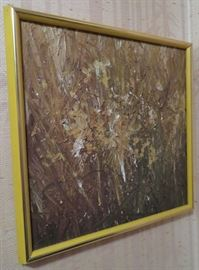 VERY NICE VINTAGE ABSTRACT PAINTING