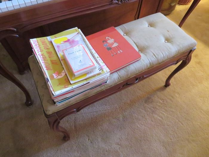 NICE SELECTION OF ANTIQUE AND VINTAGE PIANO SHEET MUSIC
