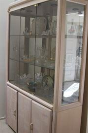 Curio/china cabinet.