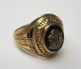 gold class ring