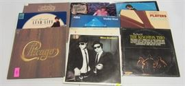 Multiple lps from popular genres.