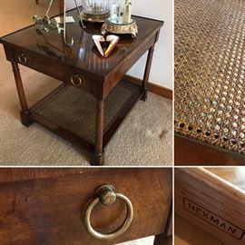 Hekman side table. $150