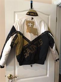 Saints Pro Player jacket-- back