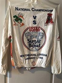 sugar bowl jacket back