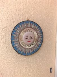 Metal wall art $15