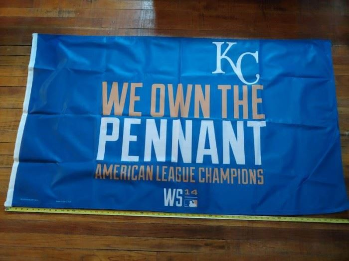 5 Royals WE OWN THE PENNANT AMERICAN LEAGUE CHAMP ...