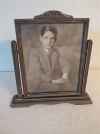 Antique Photo in Frame