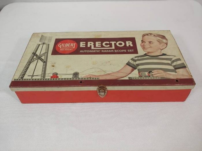 Erector Set with Various Pieces