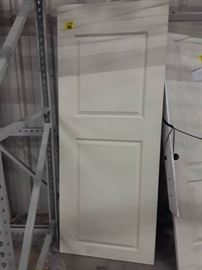 Four White Doors Sizes in Description