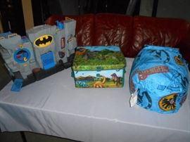 Batman, Avengers, Dinosaurs Play Room Dcor