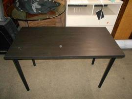 Dark Wood Look Table
