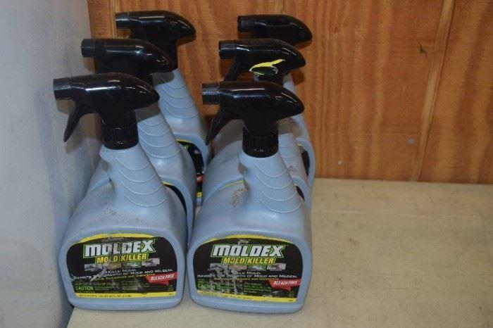 6 Bottles Moldex Mold Killer