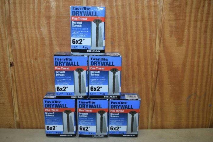6 Pounds FasNTite Fine Thread Drywall Screws