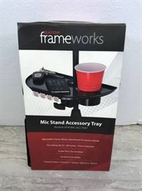 FRAME WORKS MIC STAND ACCESSORY TRAY