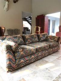 1970s Milo Baughman Style Sofa