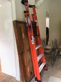 New Werner Fiberglass Platform Ladder and Other Ladders