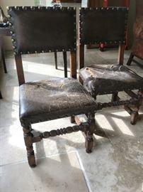 Antique Flemish Chairs