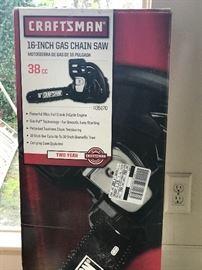"""NIB 16"""" Craftsman Chainsaw"""