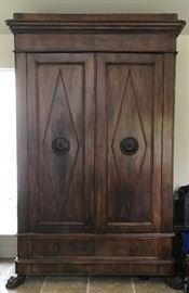 19th Century Directoire Style Armoire
