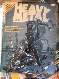Heavy Metal Magazine 1st Edition