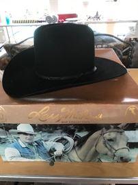 Larry Mahan Black Cowboy Hat