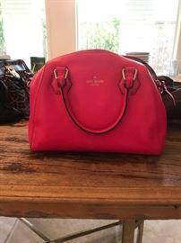 Hot Neon Pink Kate Spade Handbag