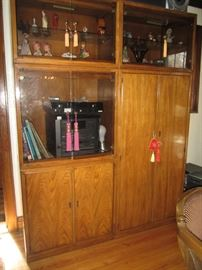Mid Century Drexel Cabinets, Separates Mix and Match