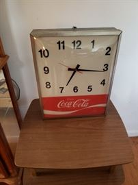 Awesome working vintage Coca-Cola clock