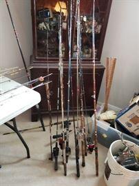 Tons of fishing!