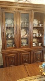 China hutch and cabinet