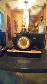 iron mantel clock working