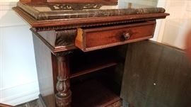 Rockford Console table with marble top 2nd pic