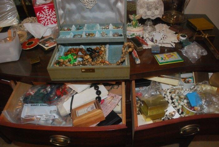 Loads of Costume Jewelry