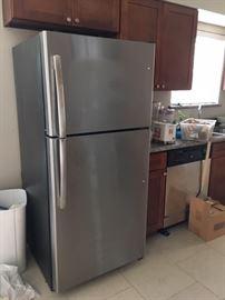 New refrigerator used 2 years