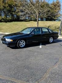 1996 Chevy Impala,28,400 miles, clean no accidents, very good condition $15,000