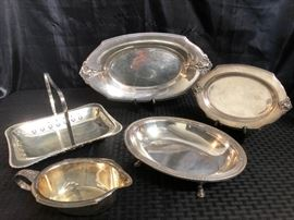 Silverplate Serving Pieces