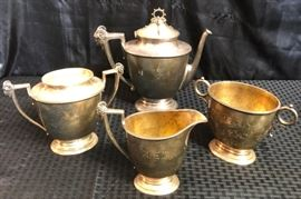 Vintage Brown Russell silver pieces