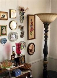 Lamps & lighting & wall decor