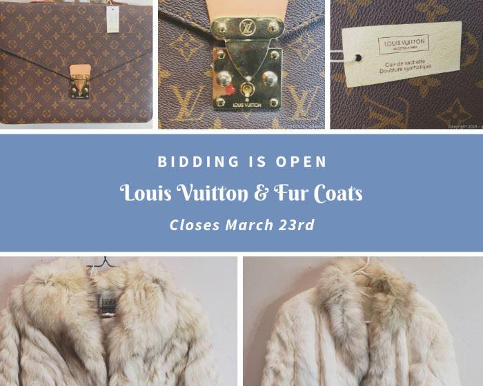 Louis Vuitton and Fur Coats